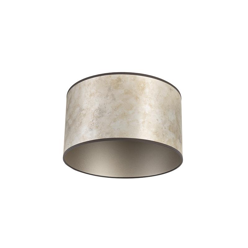 Lampenkap 35/35/20 zink - taupe