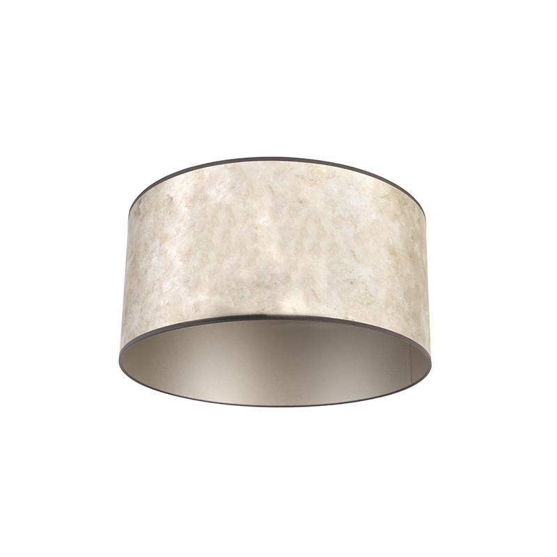 Lampenkap 50/50/25 zink - taupe