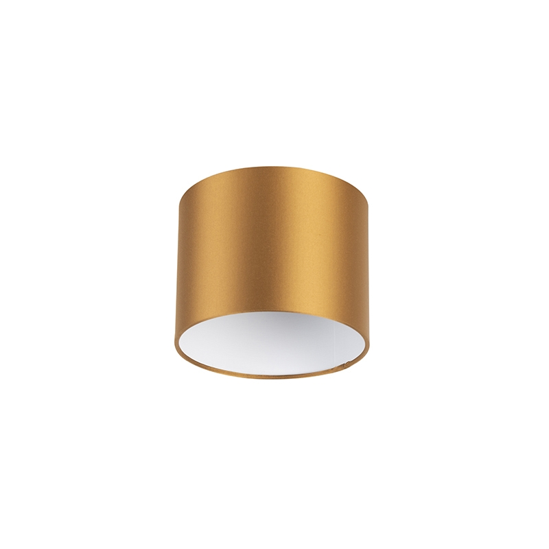 Lampenkap 18/18/14 brons - wit