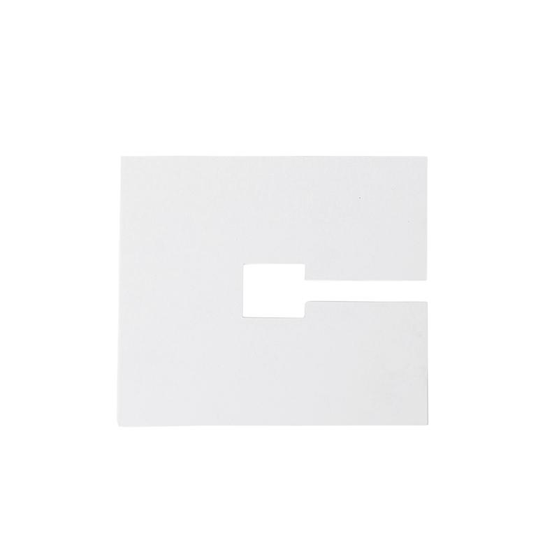 Zaślepka kwadratowa 10x10cm biała RAL 9016