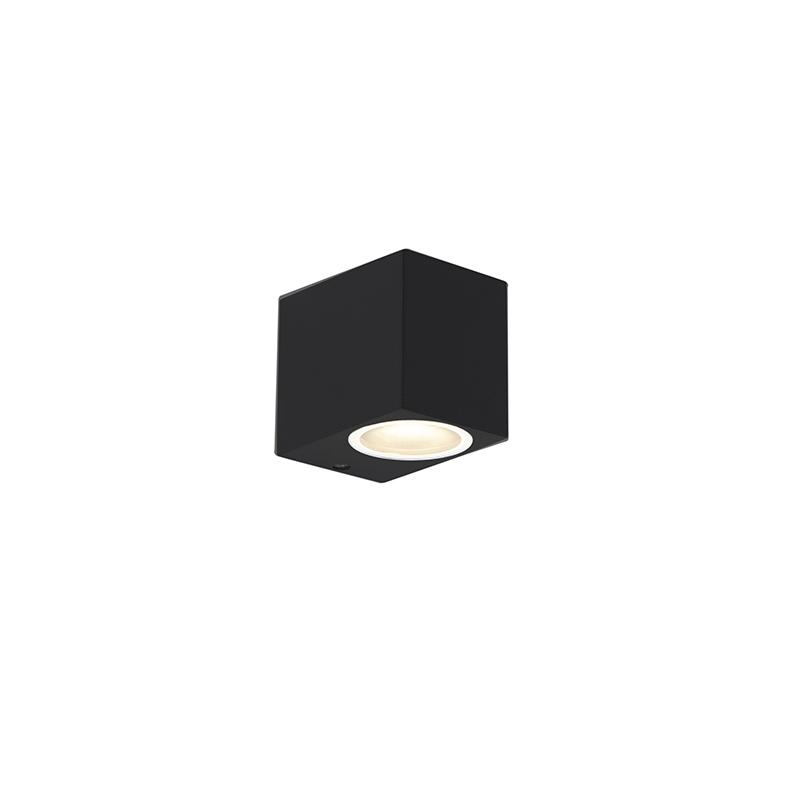 Moderne wandlamp zwart IP44 - Baleno I