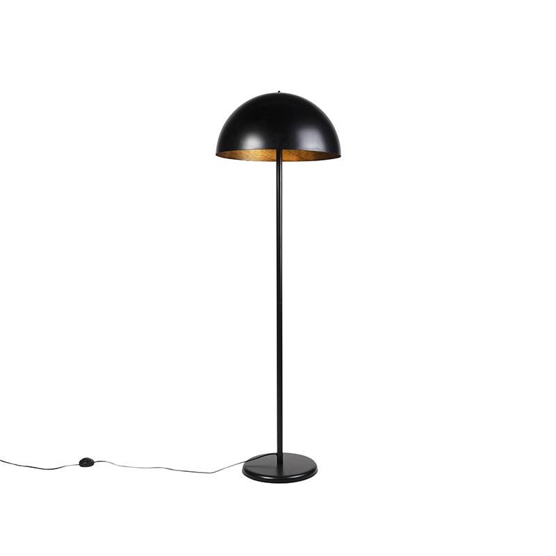 Industri�le vloerlamp zwart - Magna