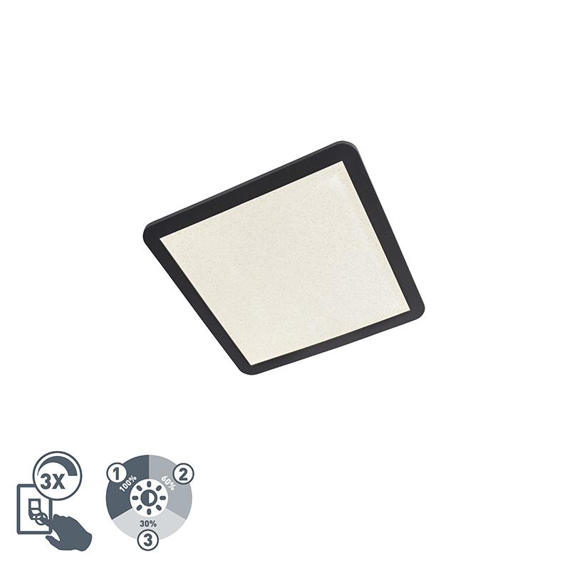 Plafondlamp IP44 3-staps dimbaar incl. LED 40 cm - Steve