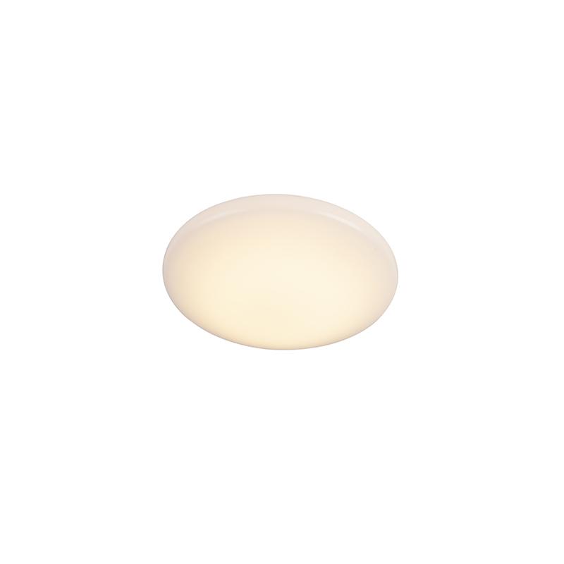 Nowoczesna lampa sufitowa biała w tym LED 10W - Tiho
