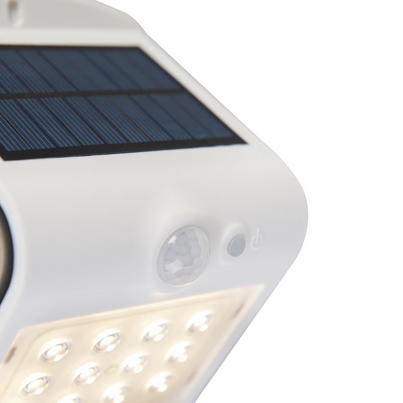 Solar straler incl. LED met beweging en licht-donker sensor 1,5W – Daya