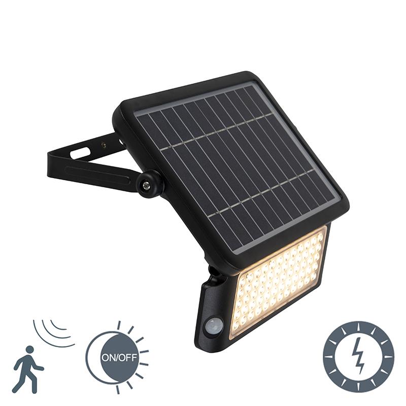 Solar Straler Incl. Led Met Beweging En Licht Sensor - Teho