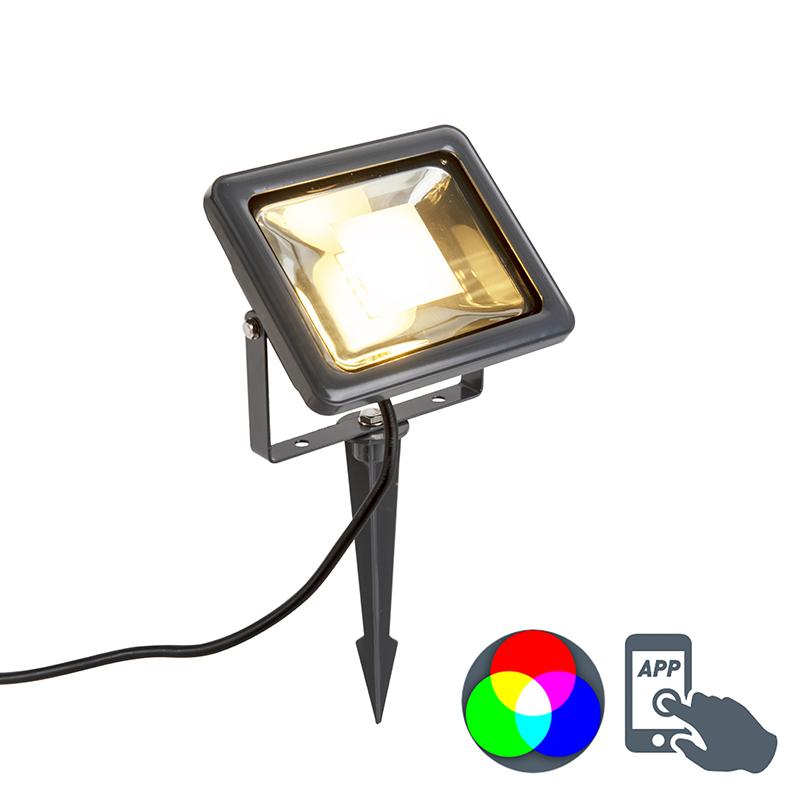 Moderne straler RGBW met grondpin Smart Light - Teho