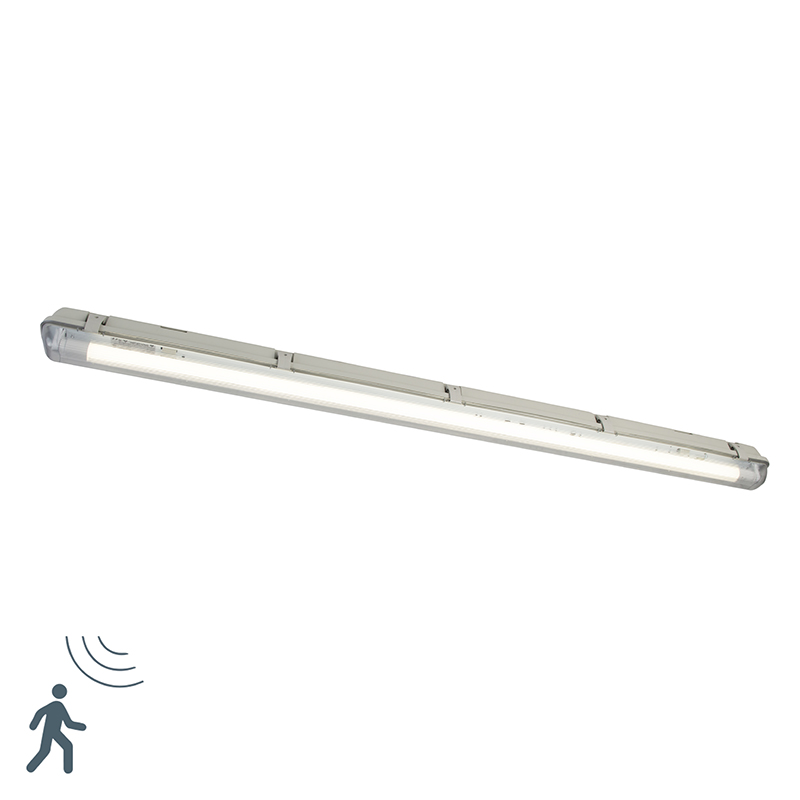 TL armatuur incl. LED 1800 lm en bewegingsmelder IP65 - Base