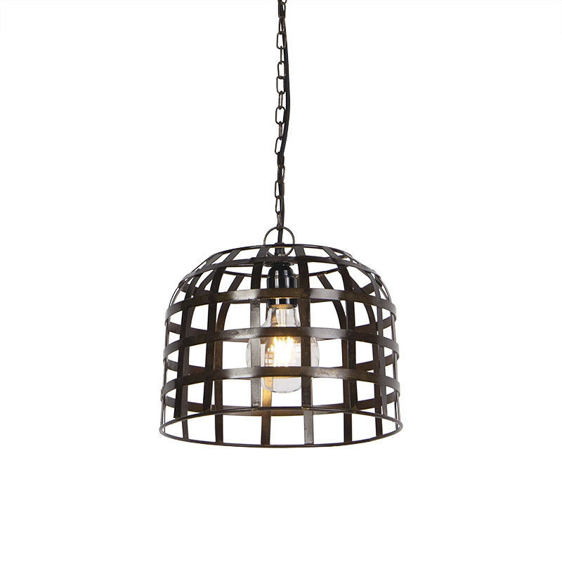 Industriele hanglamp 30cm staal - Fence