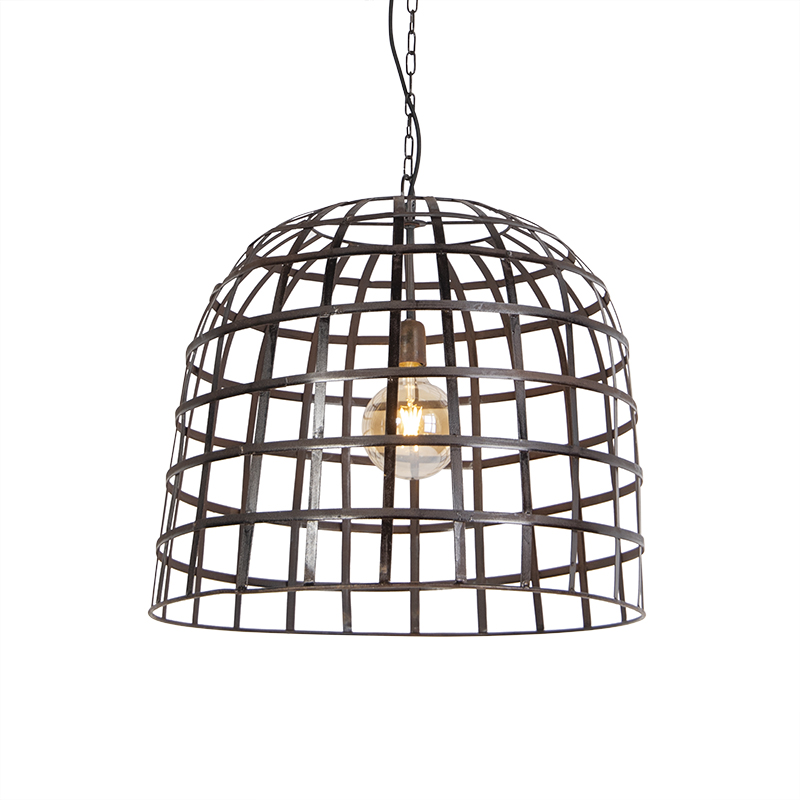 Industriele hanglamp 60cm staal - Fence