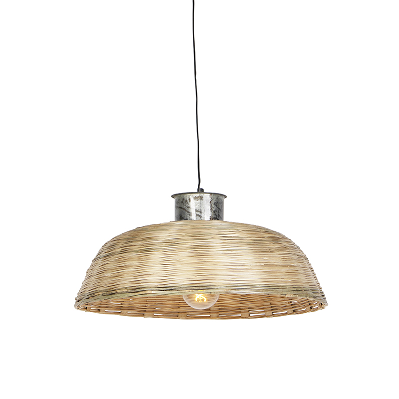 Landelijke hanglamp 60cm naturel bamboo - Barley