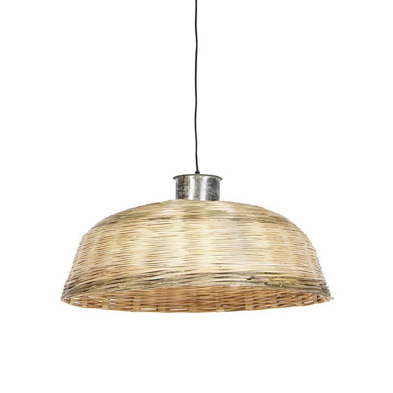 Landelijke hanglamp 70cm naturel bamboo - Barley