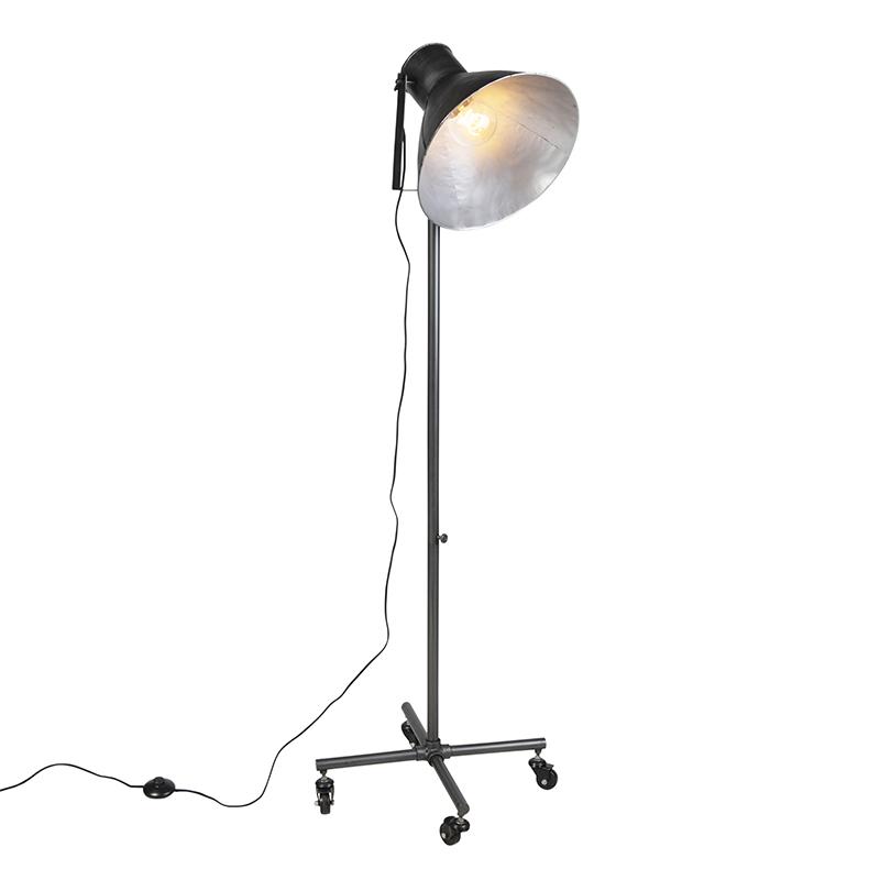 Industri�le vloerlamp antraciet 1-lichts - Mono