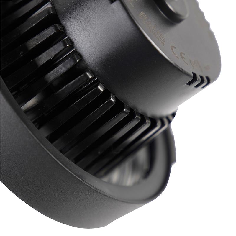 LED 3-fase railspot zwart 15W 2700K incl. AR111- Expert