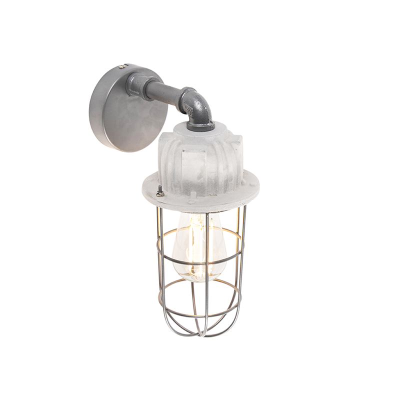 Industri�le wandlamp beton - Mighty