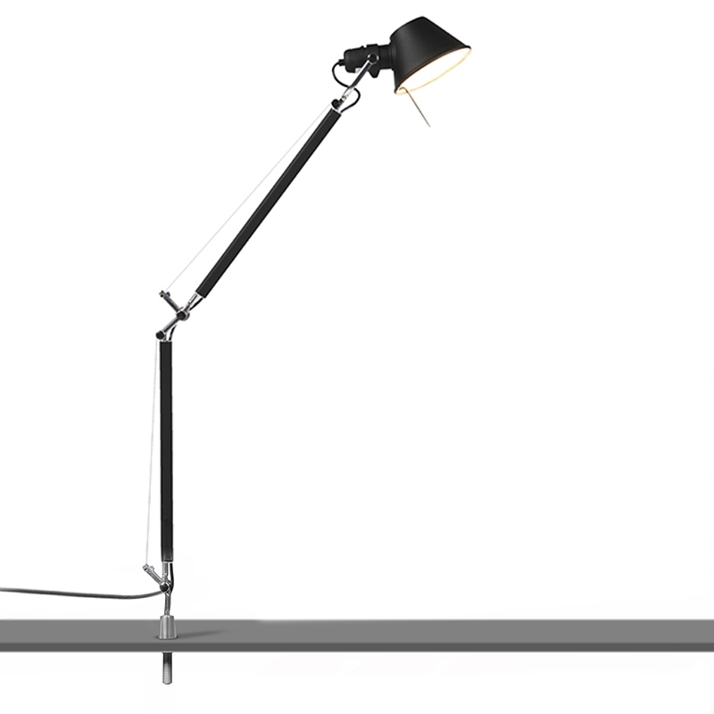 Artemide Tolomeo Tavolo tafellamp met desk support zwart