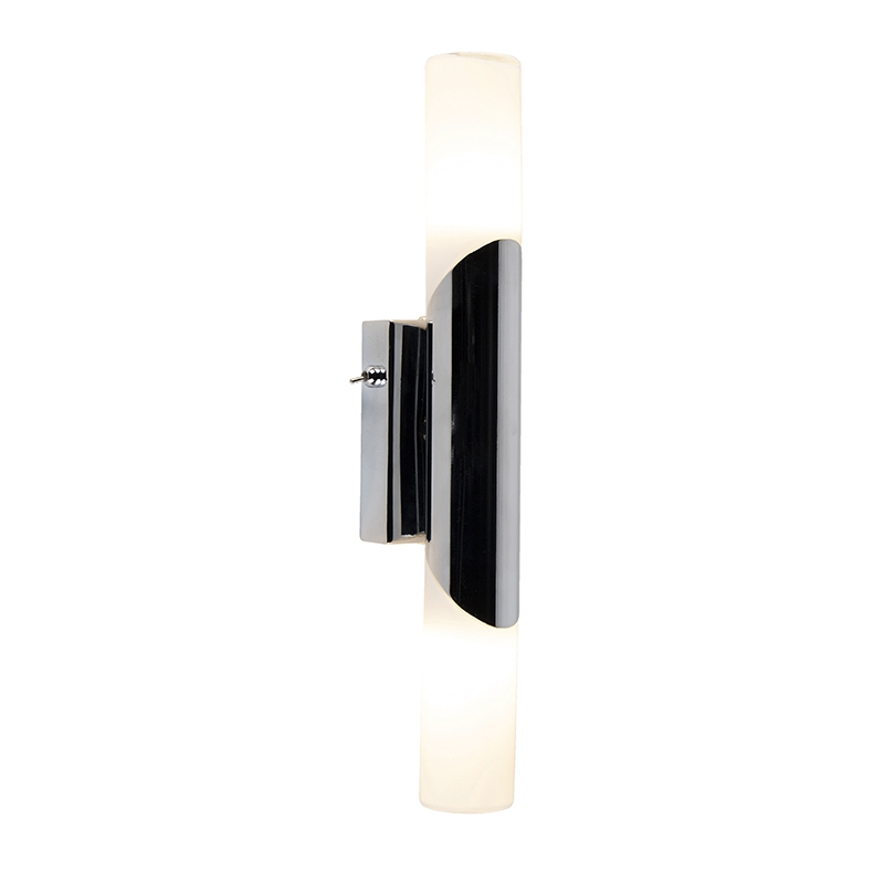 Moderne badkamer wandlamp chroom - Campino