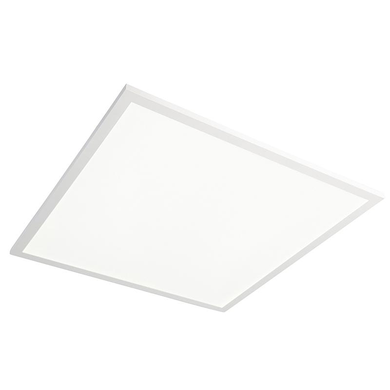 Vierkante plafondlamp wit LED met afstandsbediening - Orch