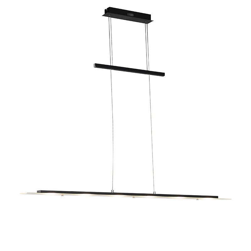 Design hanglamp zwart incl. LED - Platina
