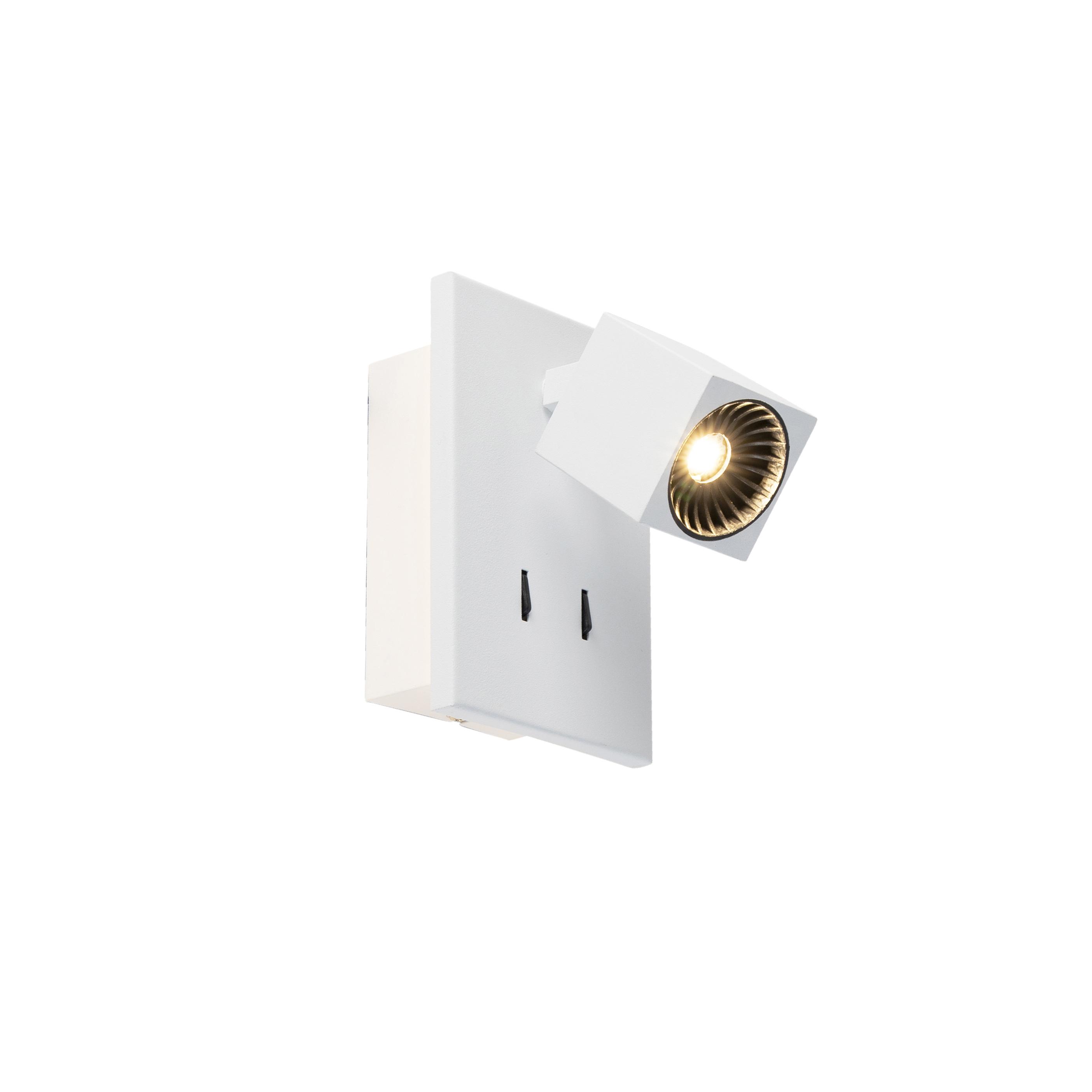 Moderne wandlamp wit incl. LED - Cupra