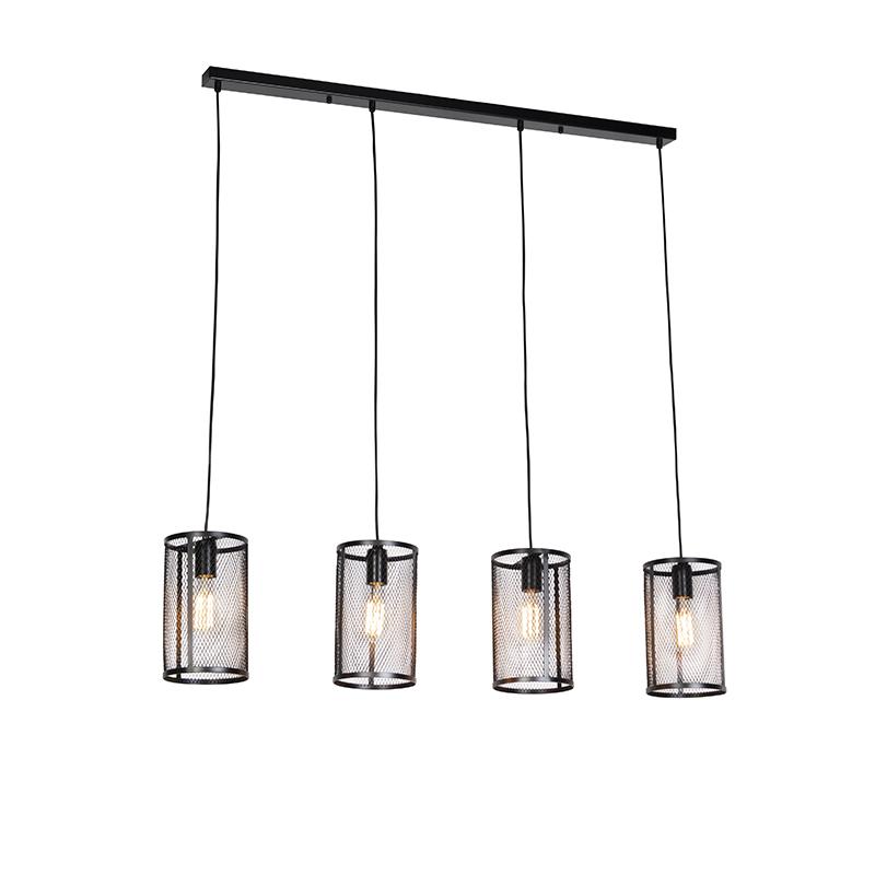 Industriele hanglamp zwart - Gauze