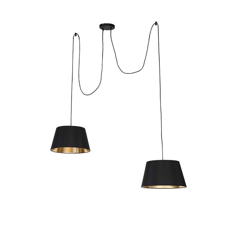 Moderne hanglamp zwart - Lofty