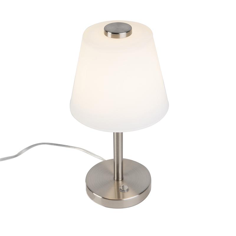 Design tafellamp staal dimbaar incl. LED - Regno