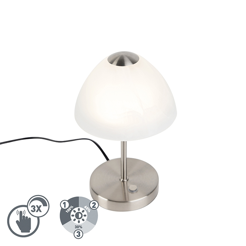 Design tafellamp staal dimbaar incl. LED - Joya