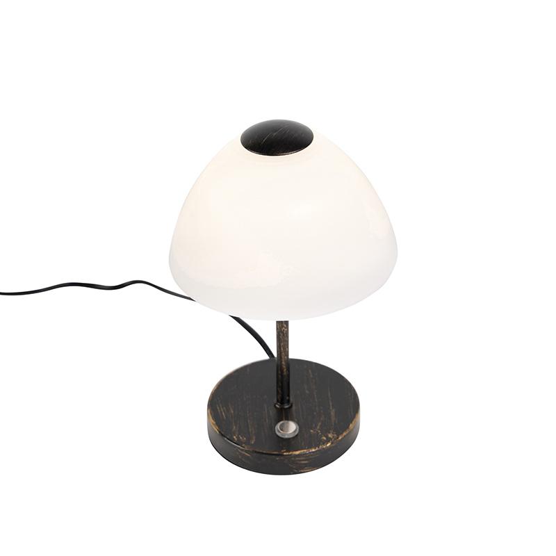 Design tafellamp zwart dimbaar incl. LED - Joya