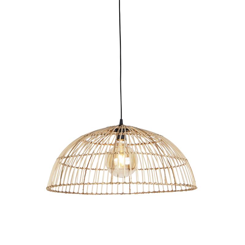 Landelijke Hanglamp Rotan 55 Cm - Magna