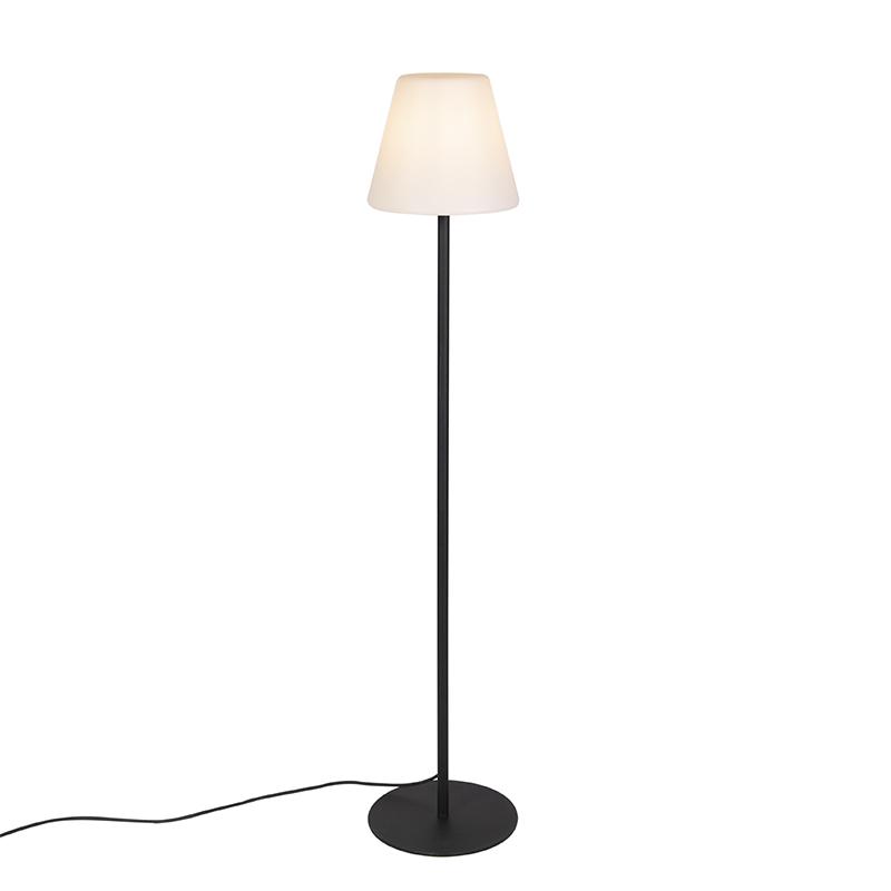 Moderne Buiten Vloerlamp Zwart - Virginia