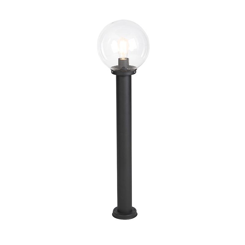 Moderne Buitenlamp 100 Cm Zwart Rvs - Sfera