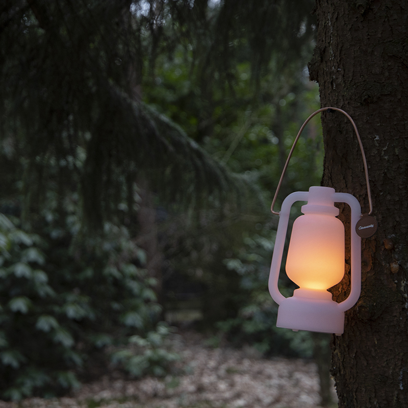Tafellamp Storm wit mini