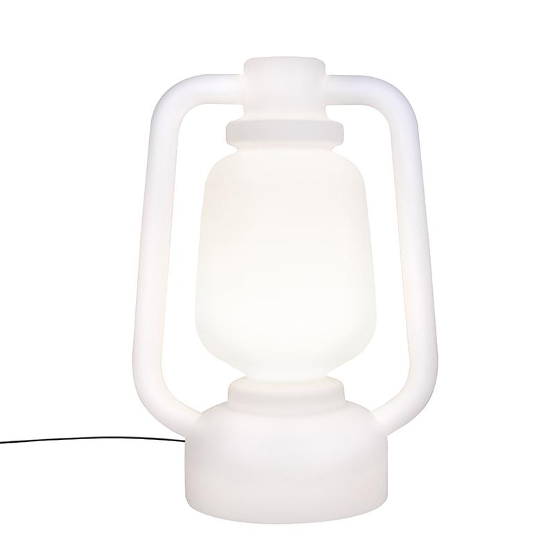 Vloerlamp wit 110 cm IP44- Storm Extra Large
