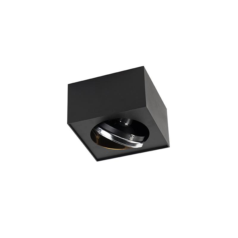Design spot vierkant 1-lichts incl. G9 zwart - Kaya