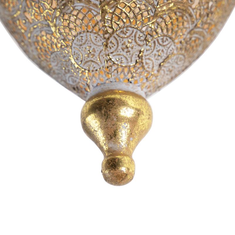 Oosterse plafondlamp goud 19 cm - Mowgli