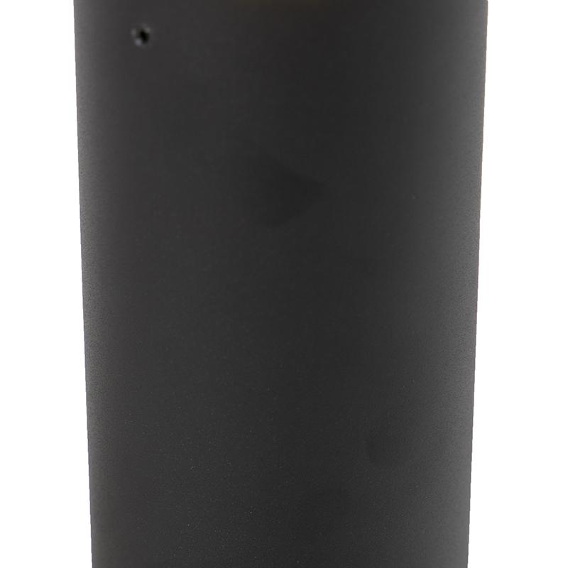 Moderne staande buitenlamp zwart 30 cm Odense