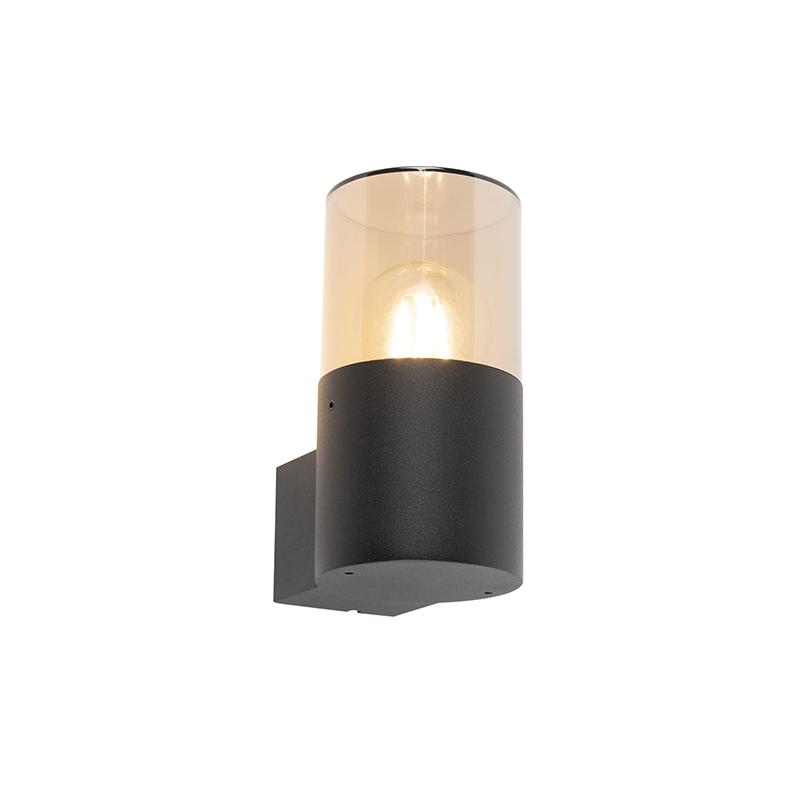 Moderne buiten wandlamp zwart - Odense