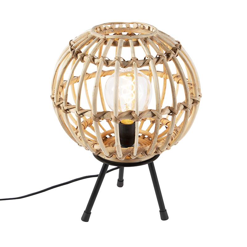 Bambusowa lampa stołowa - Canna