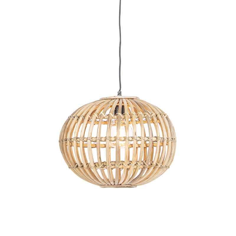 Landelijke hanglamp bamboe - Canna