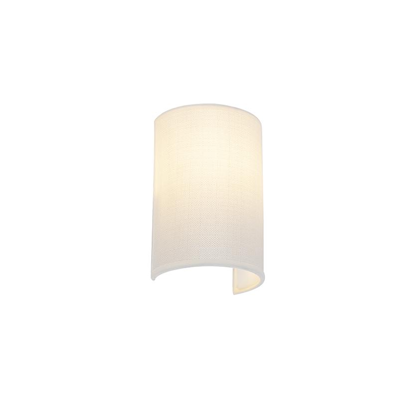 Moderne Wandlamp Wit - Simple Drum
