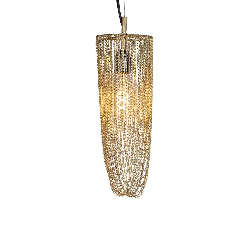 Oosterse hanglamp goud - Catena Cabalto