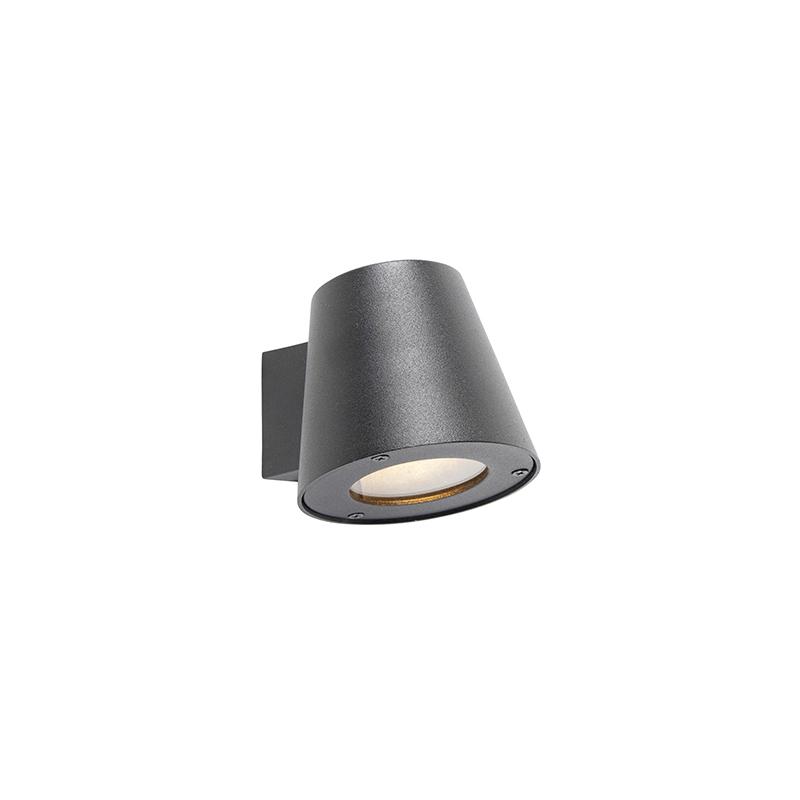 Nowoczesny kinkiet zewnętrzny czarny IP44 - Skittle