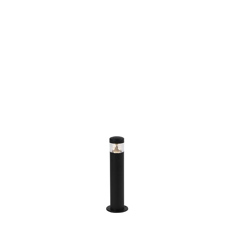 Nowoczesna lampa zewnętrzna czarna 40 cm IP44 LED - Roxy