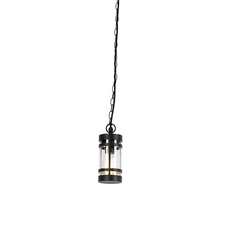 Moderne Buitenhanglamp Zwart Ip44 - Gleam