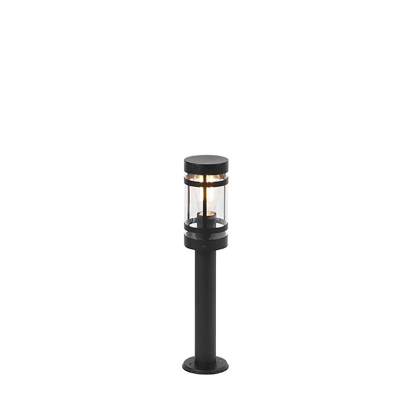 Moderne Buitenlamp Zwart 50 Cm Ip44 - Gleam