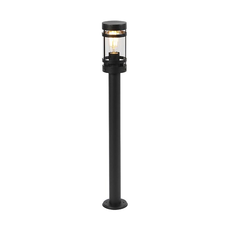 Nowoczesna lampa zewnętrzna czarna 80 cm IP44 - Gleam