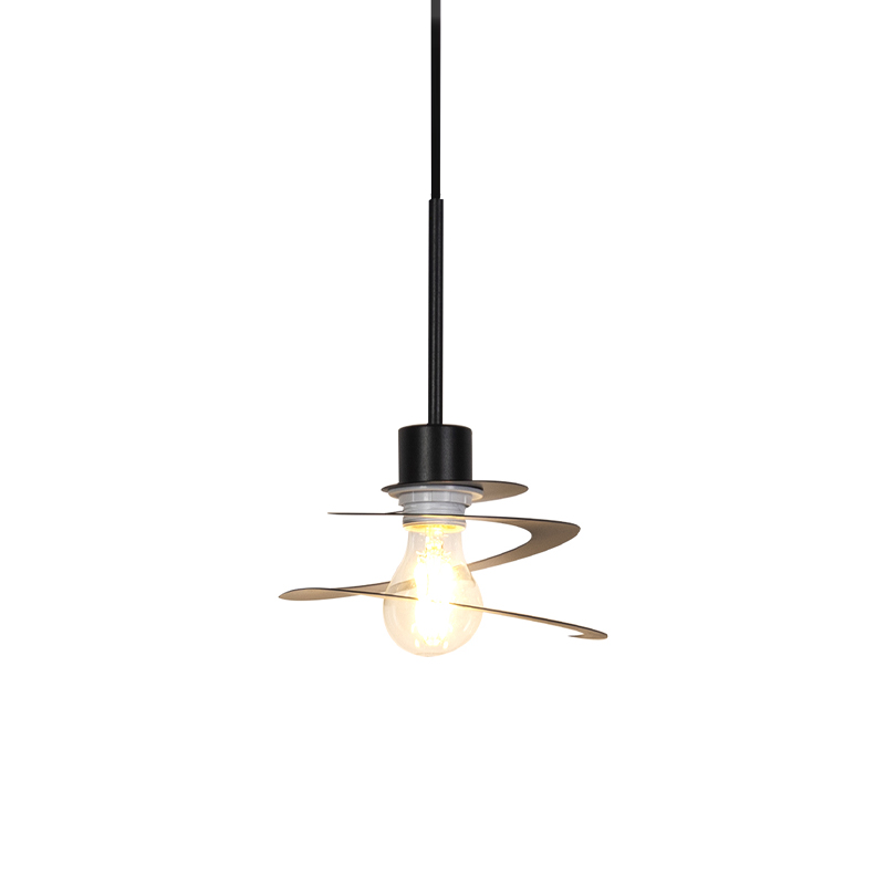 Design hanglamp met spiraal kap 20 cm - Scroll