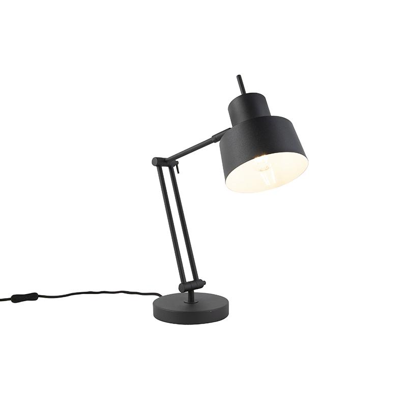 Retro tafellamp zwart - Chappie