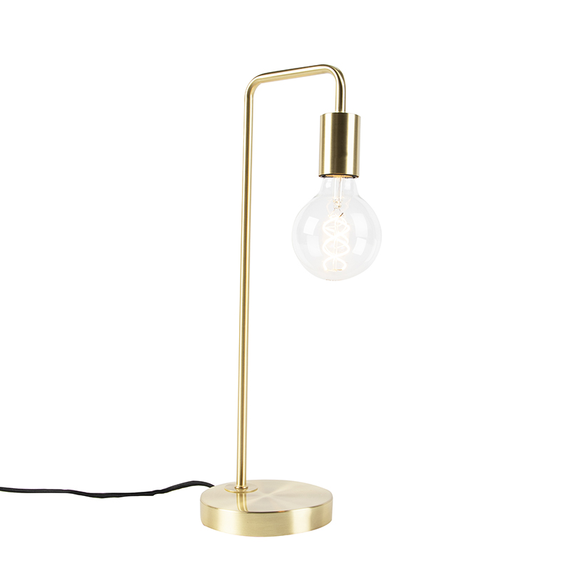 Art Deco tafellamp messing - Facil